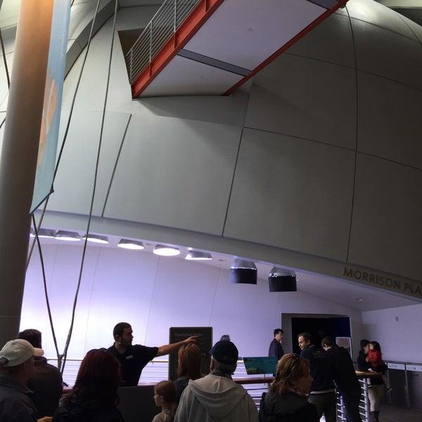 Photo taken at Morrison Planetarium by Den T. on 11/28/2014