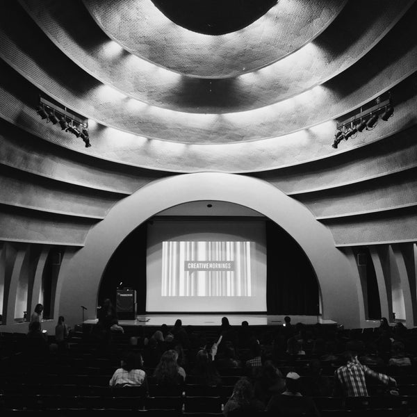 Photo taken at The New School Auditorium at 66W 12th by ⚡️ Shaun T. on 10/16/2015