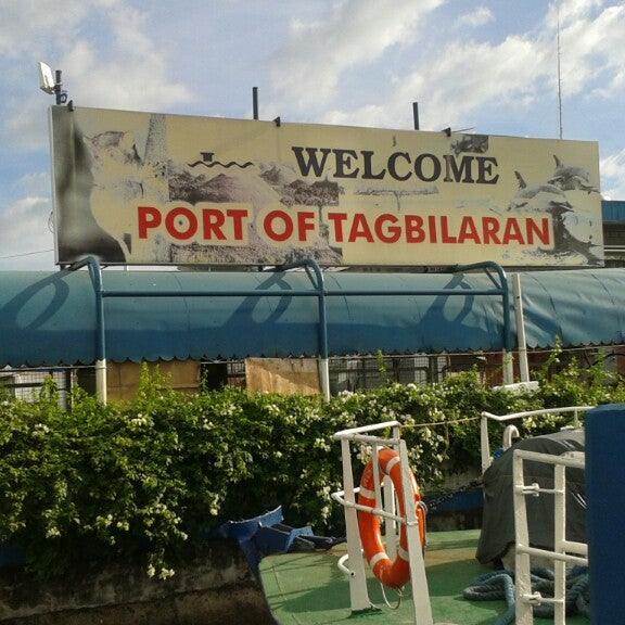 Photo taken at Tagbilaran City Bohol Port by syrille a. on 3/29/2014