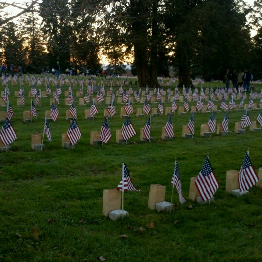 Photo taken at Gettysburg National Cemetery by Alyssa G. on 11/26/2013