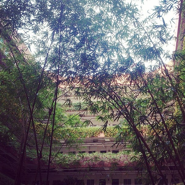 Photo taken at 亞洲大學 | Asia University by Leafish Y. on 4/27/2014