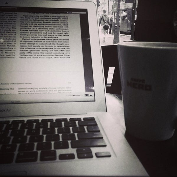 Photo taken at Caffè Nero by Mohammad A. on 3/22/2013