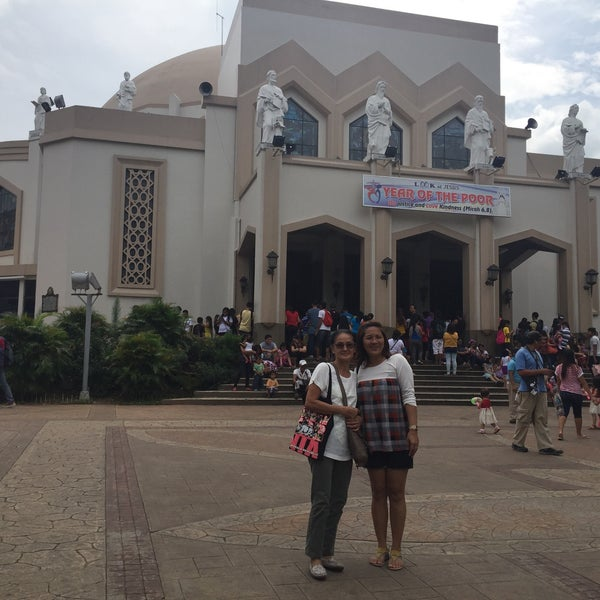 Photo taken at National Shrine of Our Lady of Peace and Good Voyage (Antipolo Cathedral) by Pamela Mae D. on 10/4/2015
