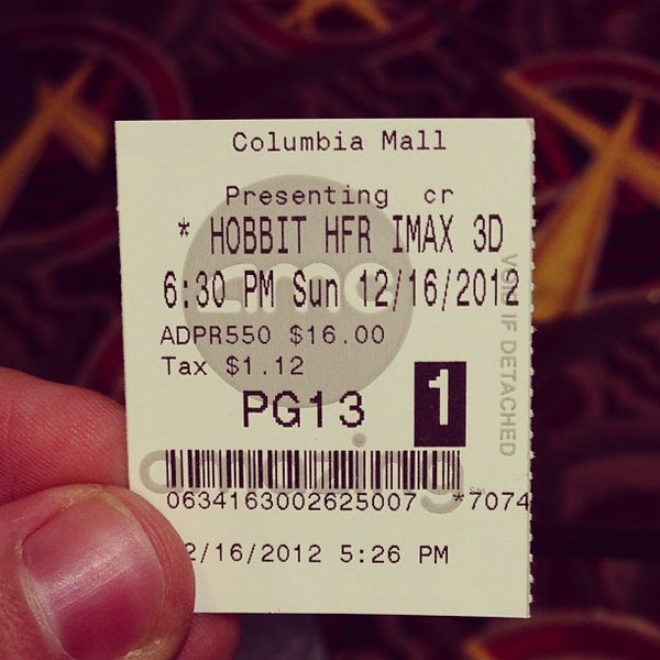 Photo taken at AMC Columbia 14 by Scott T. on 12/16/2012