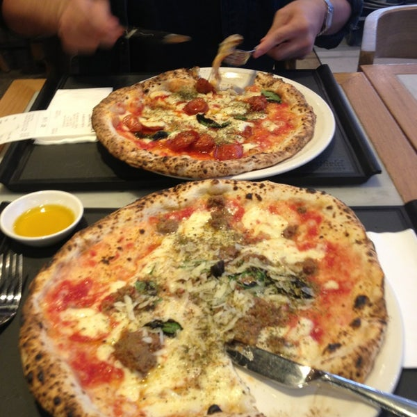 Photo taken at Franco Manca by Olly H. on 8/26/2013