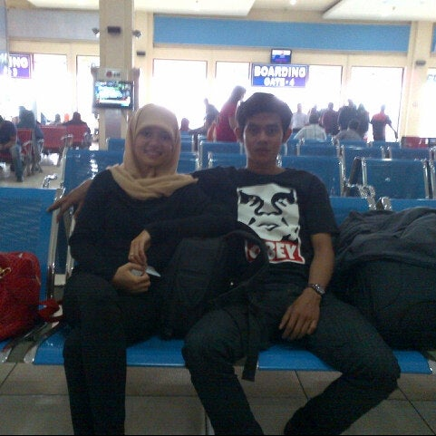 Photo taken at Polonia International Airport (MES) by Ikhsan on 4/27/2013
