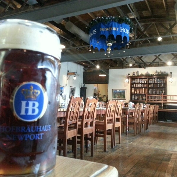Photo taken at Hofbräuhaus Newport by Diógenes D. on 6/18/2013