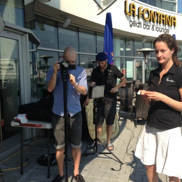 Photo taken at La Fontana Gelati Bar Lounge by La Souris C. on 8/21/2013