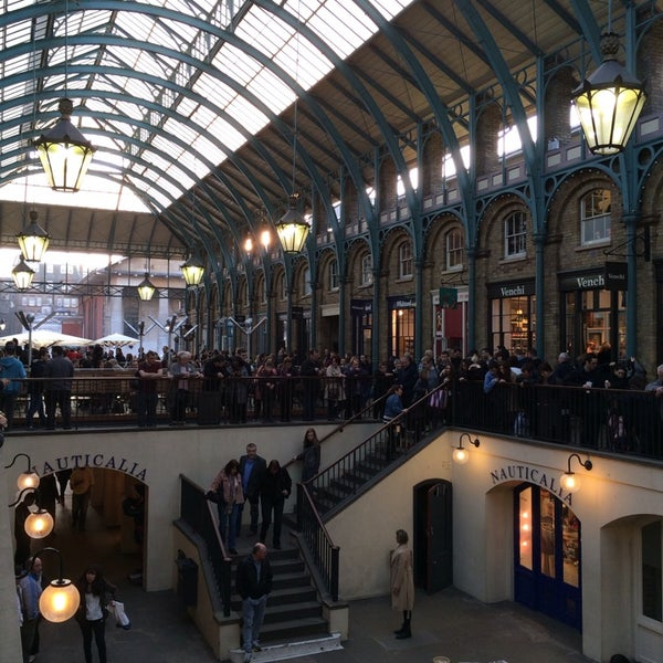 Photo taken at Covent Garden Market by Greg R. on 3/8/2014
