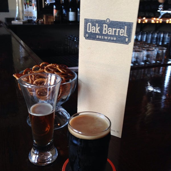 Photo taken at Oak Barrel Tavern by Scott W. on 11/3/2013