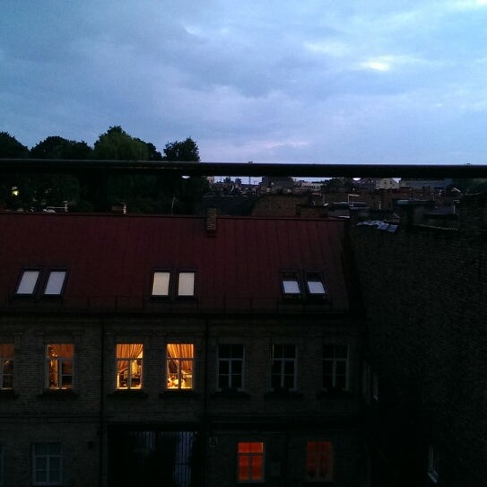 Photo taken at Comfort Hotel Vilnius by Ignasio W. on 7/5/2013