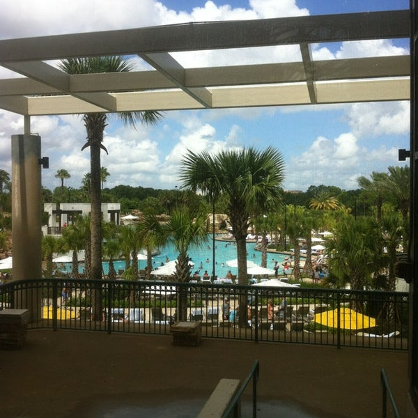 Photo taken at Marriott World Center Pool by Paul M. on 7/6/2013