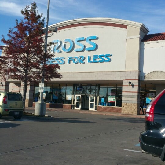 Ross dress for less clothing store