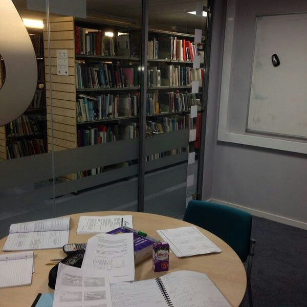 Photo taken at Northumbria University Library by Mansour A. on 1/6/2014