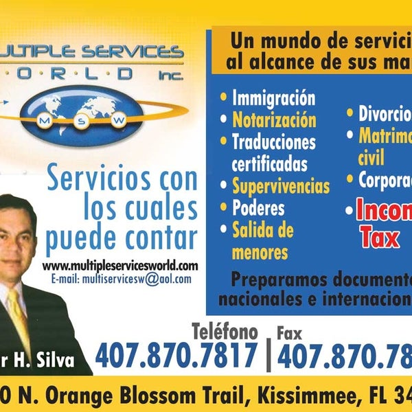 Multiple Services World Llc Kissimmee Fl