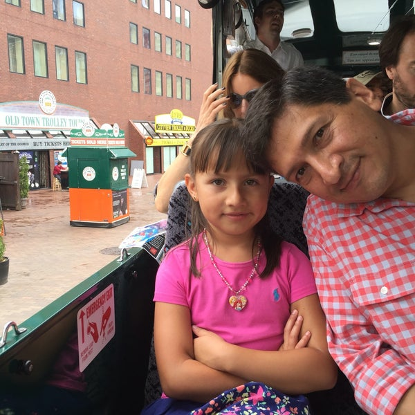 Photo taken at Old Town Trolley Tours of Boston by Nancy I. on 7/5/2016