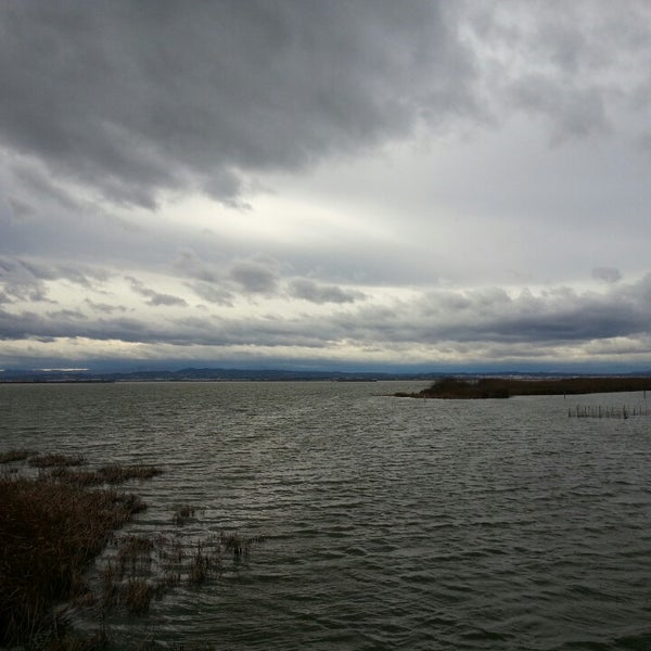Photo taken at La Albufera by Cintia S. on 3/1/2014