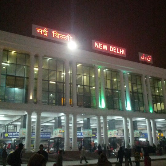 Photo taken at New Delhi Railway Station (NDLS) by Sumantra R. on 12/25/2012