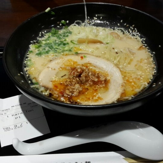 Photo taken at Chabuton Ramen by Bell S. on 2/15/2014