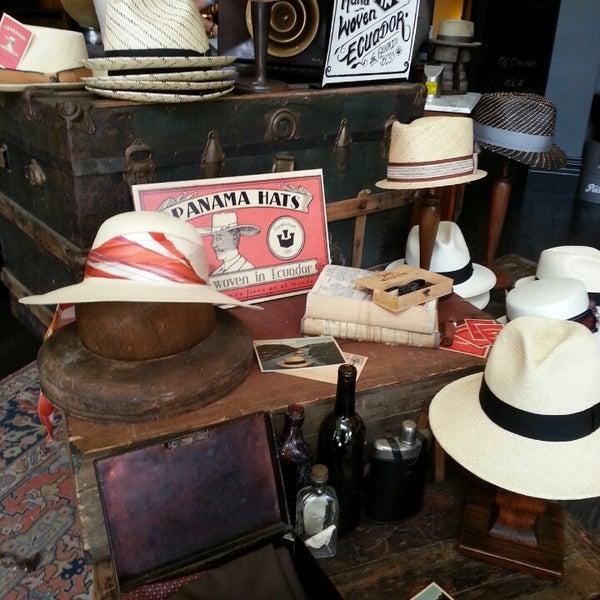 Photo taken at Goorin Bros. Hat Shop by Susan M. on 7/5/2013