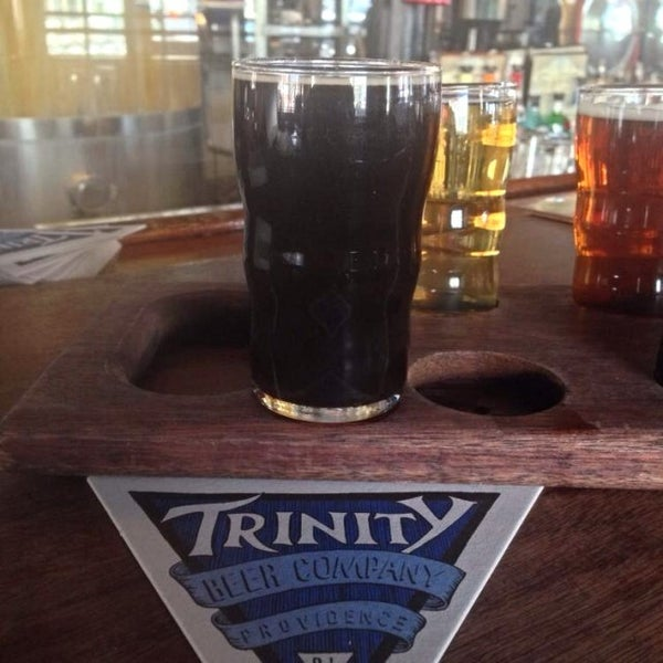 Photo taken at Trinity Brewhouse by Mathew H. on 2/24/2014