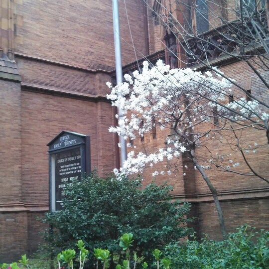 Photo taken at Church of the Holy Trinity (Episcopal) by Sarah A. on 4/16/2013