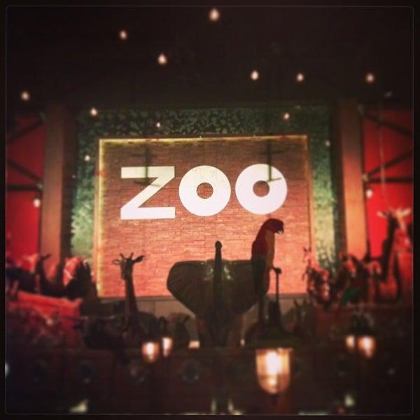 Photo taken at ZOO Bar by Juan Pablo U. on 12/22/2012