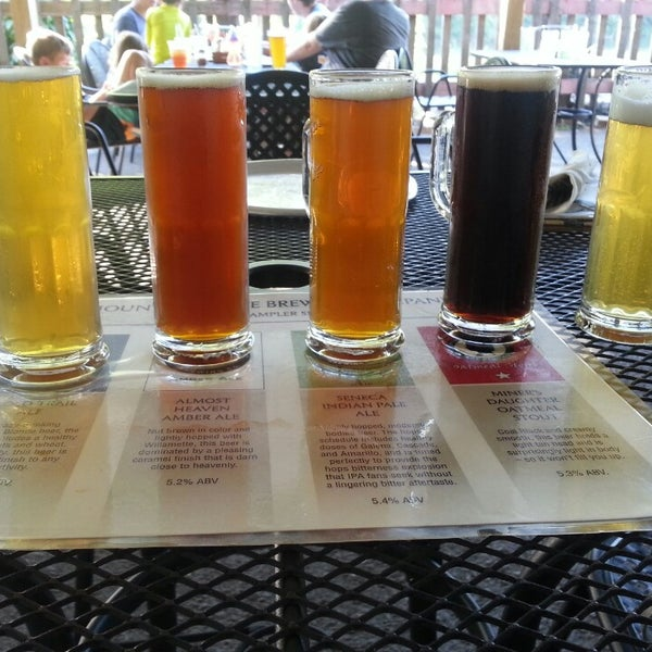 Photo taken at Mountain State Brewing Co. by Lauren P. on 5/25/2014