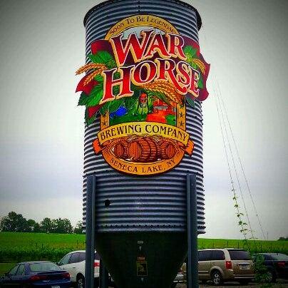 Photo taken at War Horse Brewery by @MisterHirsch on 6/12/2011