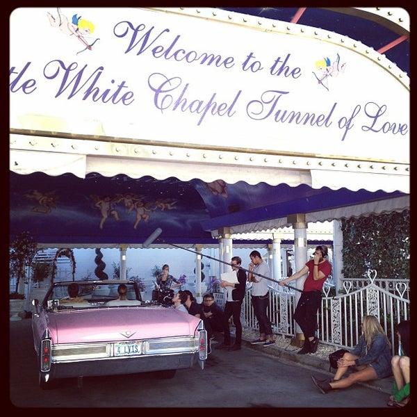 A Little White Wedding Chapel John S Park 1301 Las