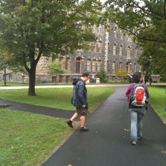 Photo taken at Cornell University by Canan T. on 9/29/2011