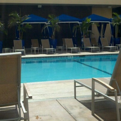 Photo taken at Four Points by Sheraton Los Angeles International Airport by Matty H. on 7/11/2012