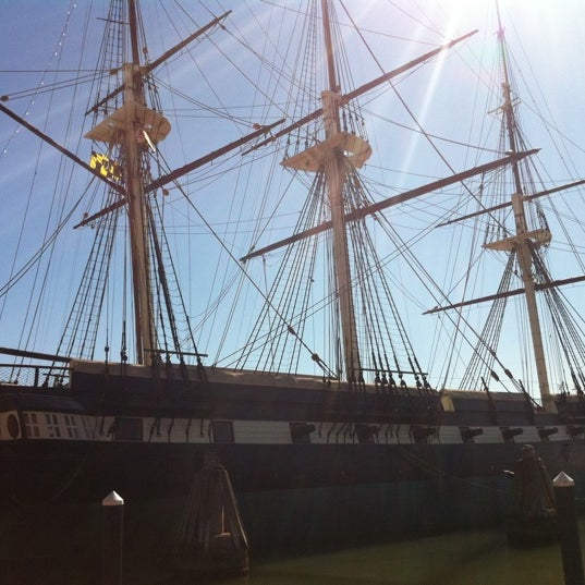 Photo taken at USS Constellation by John G. on 3/10/2012