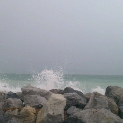 Photo taken at South Jetty / Humphris Park by Wynonna J. on 6/23/2012