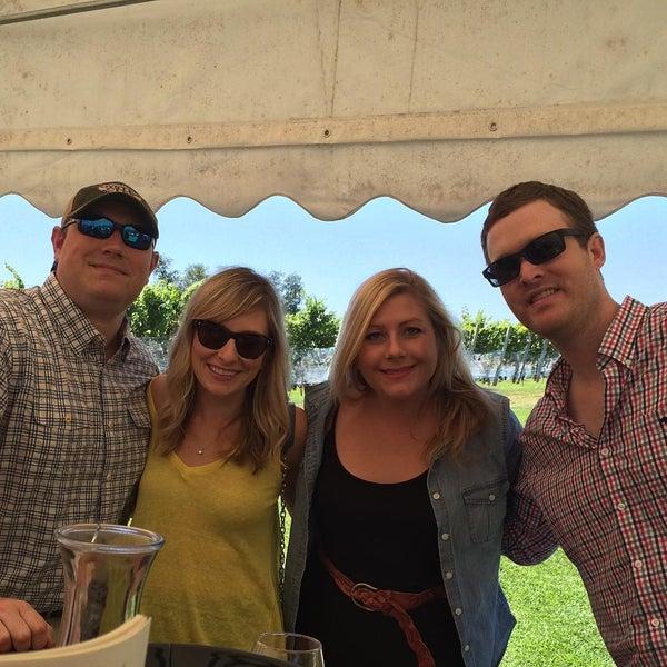 Photo taken at Three Fox Vineyards by Natalie J. on 8/22/2015