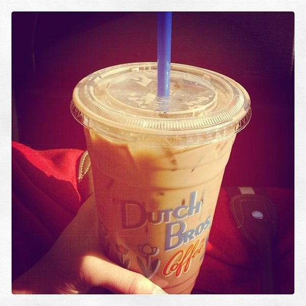Photo taken at Dutch Bros. Coffee by Vanessa S. on 12/26/2013