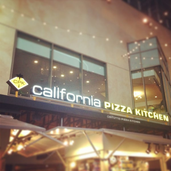 California Pizza Kitchen Hollywood And Highland