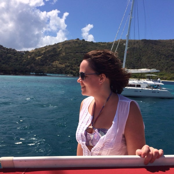 Photo taken at Jost Van Dyke Island by Irina N. on 3/7/2014