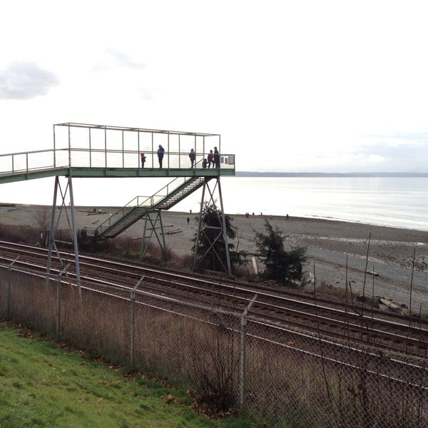 Photo taken at Carkeek Park by Chishiki W. on 2/17/2013