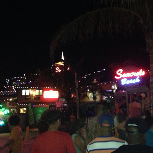 Photo taken at Seacrets by Hazal E. on 7/28/2013