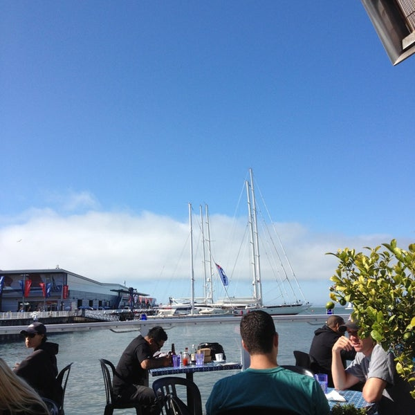 Photo taken at Pier 23 Cafe by Jade U. on 7/15/2013