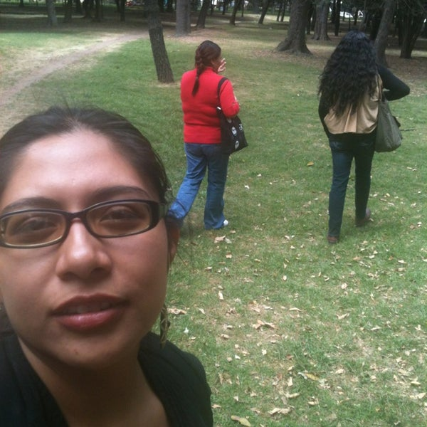 Photo taken at Bosque de Chapultepec by Fhab on 3/9/2014