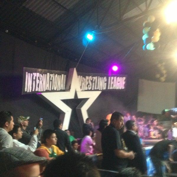 Photo taken at Arena Adolfo Lopez Mateos by Daniel C. on 8/4/2013