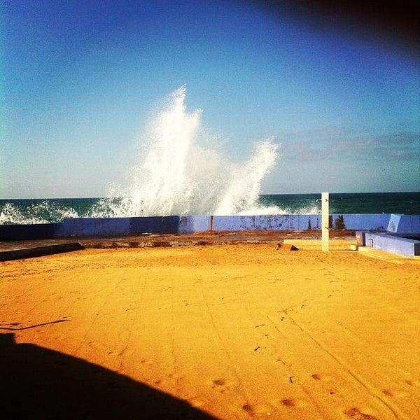 Photo taken at La Corniche de Casablanca by Alexander G. on 10/1/2012