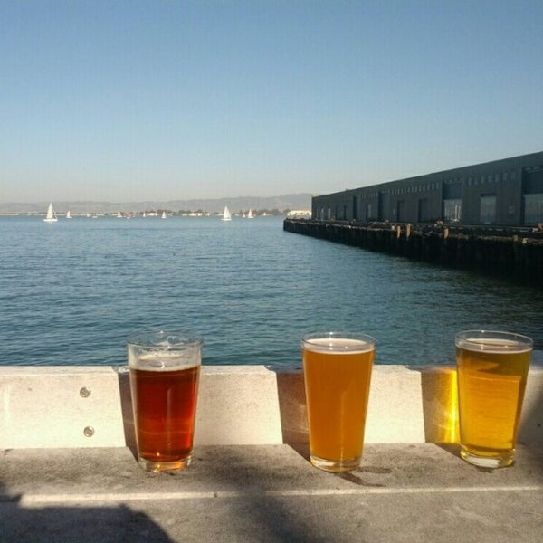 Photo taken at Pier 23 Cafe by Danielle T. on 1/25/2014