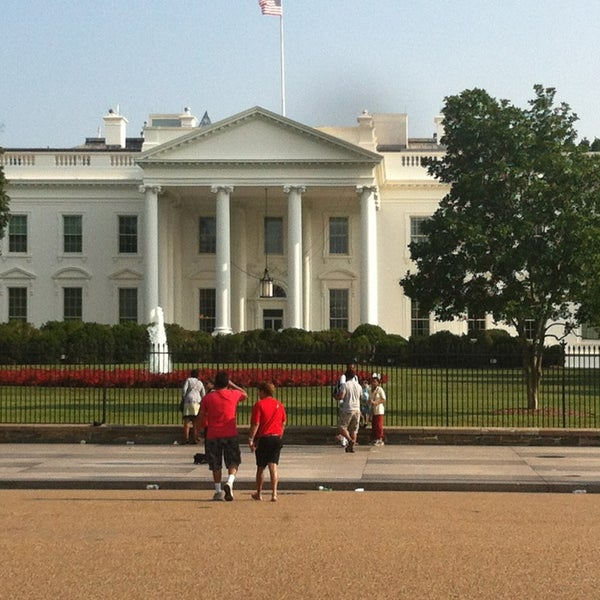Photo taken at The White House by Ginger D. on 7/19/2013