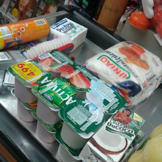 Photo taken at Supermercados Nazaré by Rodrigo M. on 8/29/2012