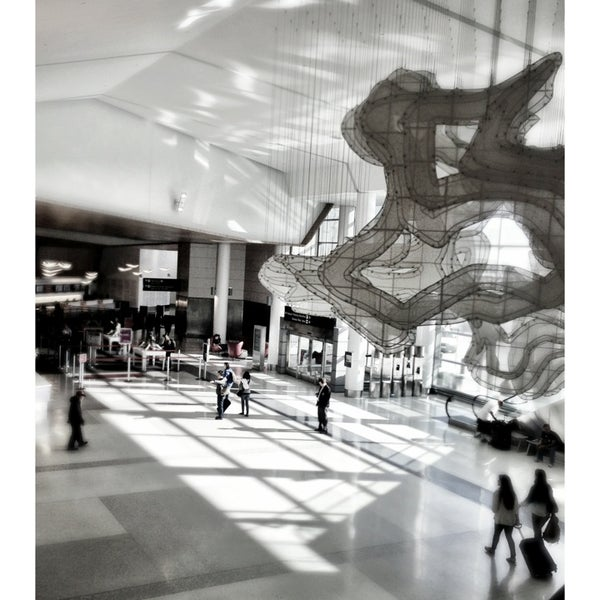 Photo taken at San Francisco International Airport (SFO) by Austin H. on 7/20/2013