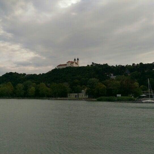 Photo taken at Tihanyi Apátság by Melinda Mária L. on 6/28/2015