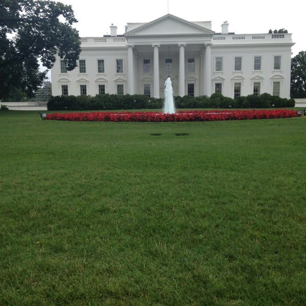 Photo taken at The White House by Lauren D. on 6/23/2013